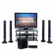 "LG 42LF65 42"" HD Ready 1080P Digital LCD TV, Dvd Home Cinema System, Stand"