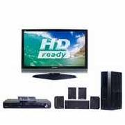 "Panasonic TH37PX70 37"" HD Ready Digital Plasma TV, Dvd Home Cinema System, Stand"