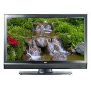 "LG 42"" LCD TV, 1080P, 5000:1 Contrast Ratio, 2X HDmi, Gloss Black, Intergrated Digital Freeview"