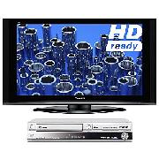 Panasonic Viera TH42PZ70B Plasma HD Ready Digital Television, 42 inch and Dvd/HDd Recorder/Vcr Combi