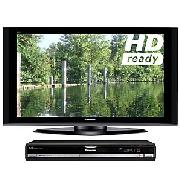 Panasonic Viera TH50PZ70B Plasma HD Ready Digital Television, 50 inch and Digital Box/Dvd/HDd Recorder
