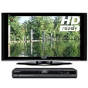 Panasonic Viera TH50PZ70B Plasma HD Ready Digital Television, 50 inch and Dvd/HDd Recorder
