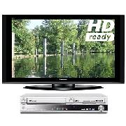 Panasonic Viera TH50PZ70B Plasma HD Ready Digital Television, 50 inch and Dvd/HDd Recorder/Vcr Combi