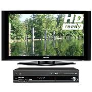 Panasonic Viera Th50pz70b Plasma Hd Ready Digital Tv, 50 Inch And Vcr/Dvd Recorder/Digital Receiver
