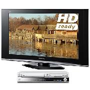 Panasonic Viera TX37LZD70 LCD HD Ready Digital Television, 37 inch and Dvd/HDd Recorder/Vcr Combi
