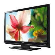 Sharp Aquos LC52XL2E 52 inch 100Hz HD Ready 1080P Slimline LCD TV